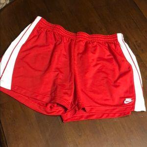 Ladies Nike shorts size xl